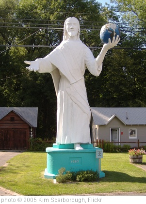 'Jesus holding earth' photo (c) 2005, Kim Scarborough - license: http://creativecommons.org/licenses/by-sa/2.0/