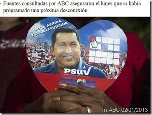 Noticia o jornal espanhol ABC.Jan.2013
