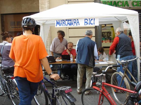 marcatura bici torino - stand