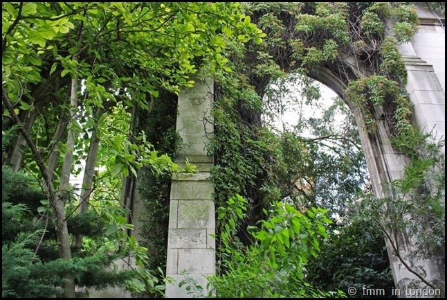 Bombed out church of St Dunstan in the East (4)