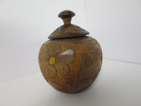 Floral Covered Jar