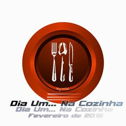 Logotipo Dia Um... Na Cozinha -  Fevereiro 2015