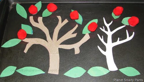 Magnetic Apple Tree