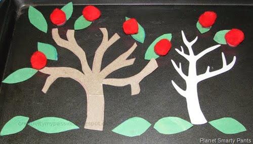 Magnetic Apple Tree