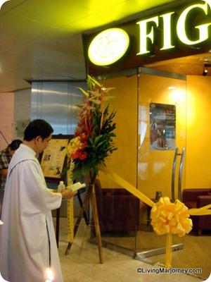Figaro Enterprise Makati store blessing