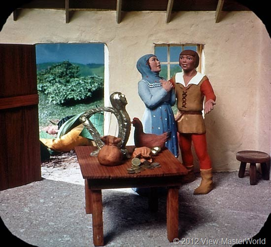 View-Master Three Fairy Tales featuring Jack and the Beanstalk (B314), Scene 7