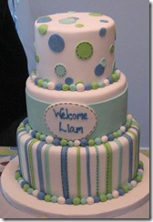 baby shower cake really cute