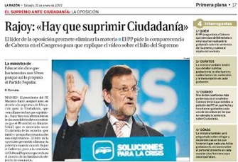 EPC y Rajoy