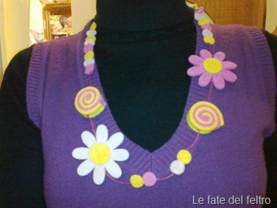 Ciao!ecco la vostra collana, già indossata oggi. Mi piace tanto!buon weekend.