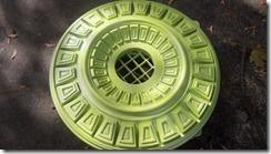 green metallic medallion 2