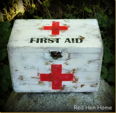 Red Hen Home First Aid Chest 2