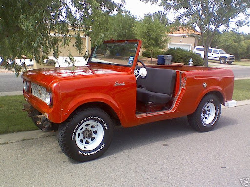 1964 International Scout http://picasaweb.google.com/lh/photo/8eHRAtM7BC8lsgNFcnovOg