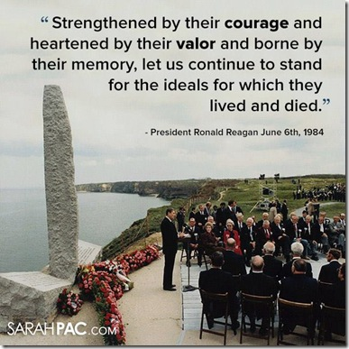 Ronald Reagans Words - D-Day