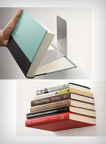 Floating Books Shelf