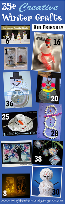 35 Creative Winter Crafts for Kids