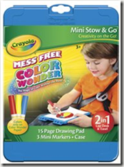 Crayola Color Wonder Mini Stow & Go