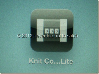 2012 knit counter lite