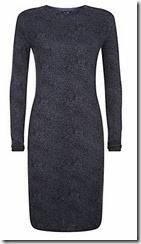 Armani Jeans Animal Print Knit Dress