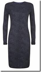 Armani Jeans Animal Print Knit Dress