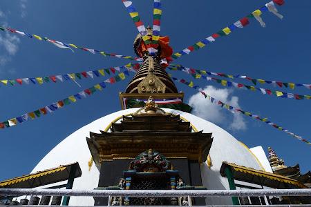 Stupa in centru Kathmandu