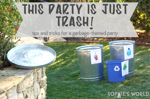 Trash party by Sophie's World