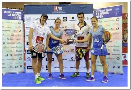 Lima-Mieres & Llaguno-Amatriain ganan el Estrella Damm WPT La Nucía Open 2014.