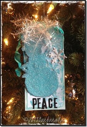 peace snowman wm