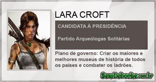 CANDIDATA: LARA CROFT