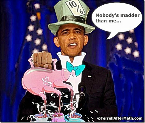 Prez Obama Mad Hatter 3 nobody madder