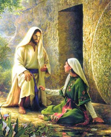 Jesus Ressucitado com Madalena