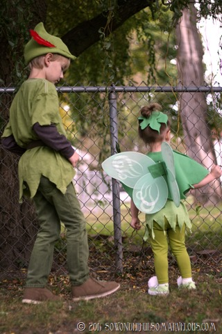DIY Peter Pan   Tinkerbelle Costume 126