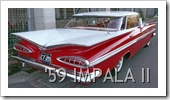 CHEVROLET IMPALA II REAR 1959