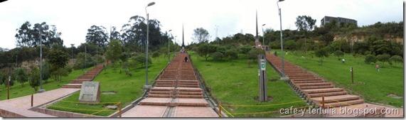 obeliscos parque Mirador de los Nevados