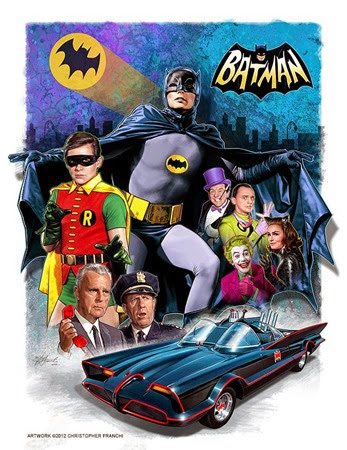 BATMAN 1966 ART BY CHRISTOPHER FRANCHI