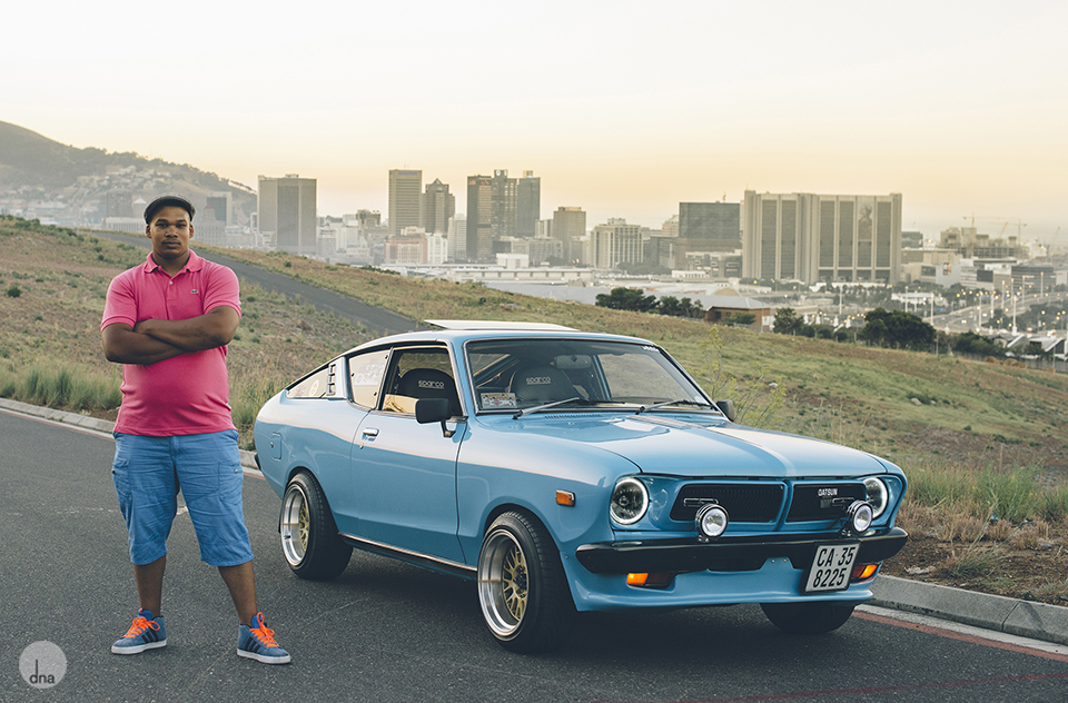Ruben working 1979 Datsun GX Coupe 1600 shot by dna photographers Cape Town South Africa.jpg
