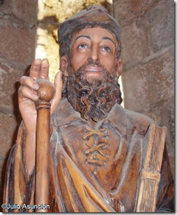 Santiago Beltza - Iglesia de Santiago - Roncesvalles