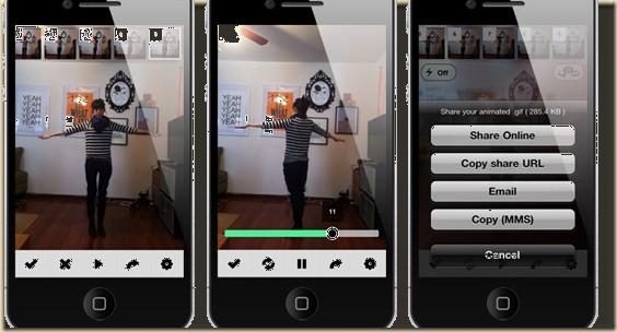 Comment créer des Gifs animés avec un iPhone