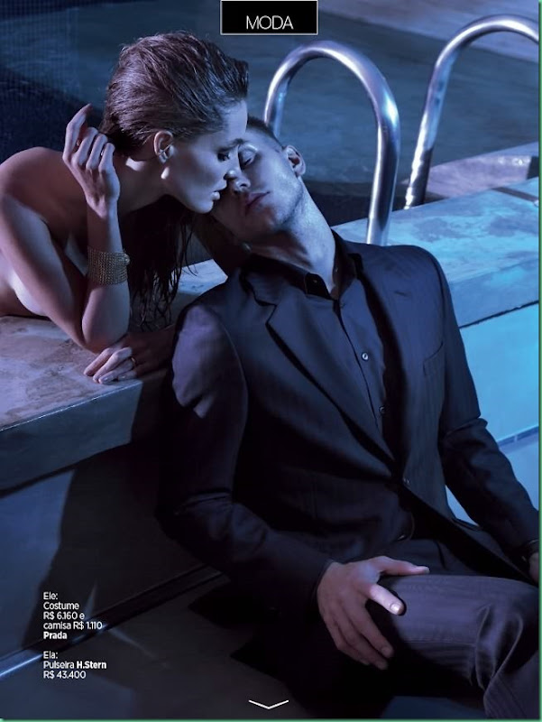 "David Jensen in a ""Fetiche Motel"" for GQ Brazil September"