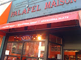No lineup at Falafel Maison on Robson. Tourists are missing out, this place is a secret dinner weapon.