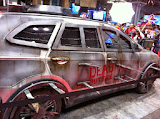 The Walking Dead booth