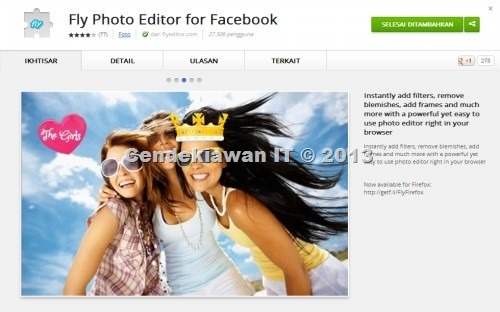 Fly Photo Editor for Facebook