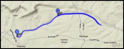 map pewsey