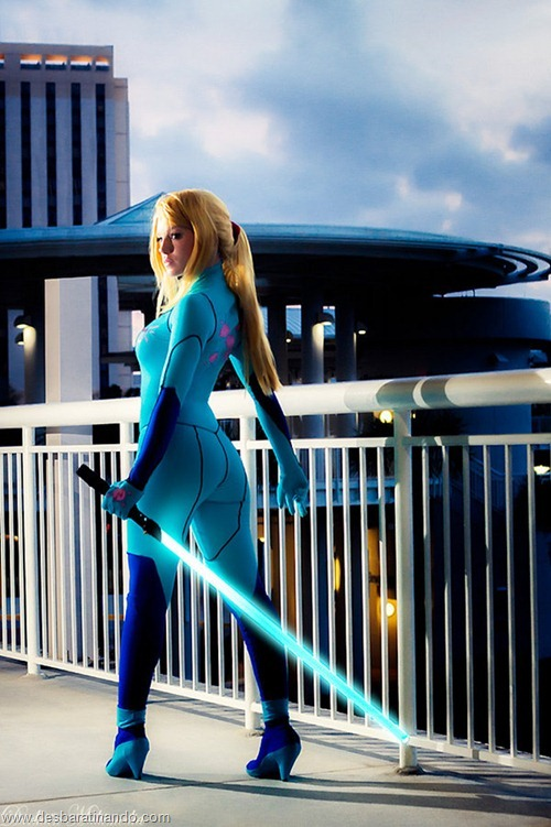 Mashup Metroid Star Wars samus cosplay blonde  (5)