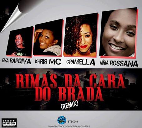 As Rappers Diva de Angola