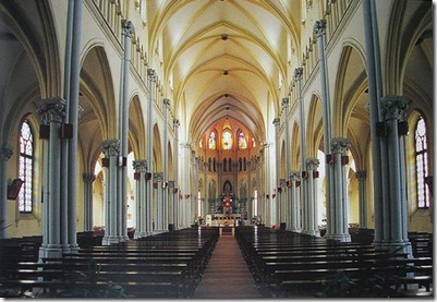 Xujiahui church interior