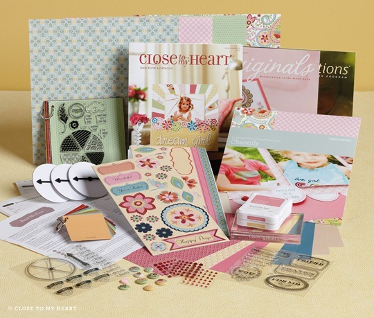 2013 CTMH spring summer Idea Book Chantilly