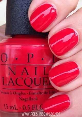 OPI Coca-Cola Red