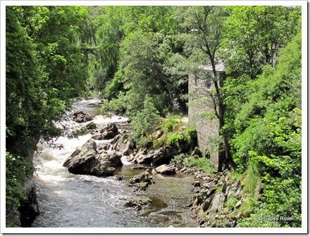 River Dee, Braemar where 4 water wheel ran mills for the area.