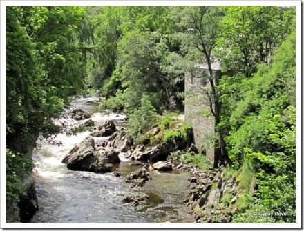 River Dee, Braemar where 4 water wheel ran mills for the area.