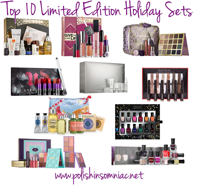 Top 10 Limited Edition Holiday Sets